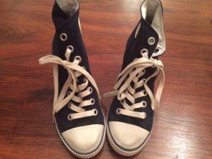 Limited Edition Sneaker Heels Converse Canvas High Tops Pumps NEU