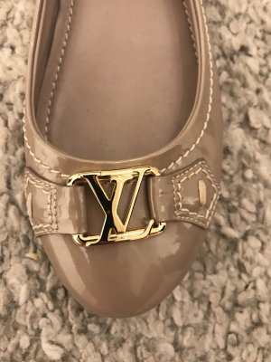 Louis Vuitton Patent Leather Ballerinas rose-gold-coloured-gold-colored