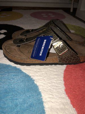 Birkenstock Sandals dark green