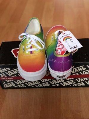 Limitierte Dallas Clayton Rainbow authentic  Vans Neu 38