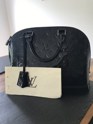 Louis Vuitton Bolso barrel negro-gris antracita