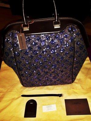 limitierte Louis Vuitton Wooly royales dunkelblau Pailletten bag Tasche