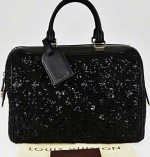 limitierte Louis Vuitton Wooly schwarz Pailletten