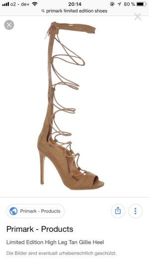 Limitierte schnür high heels