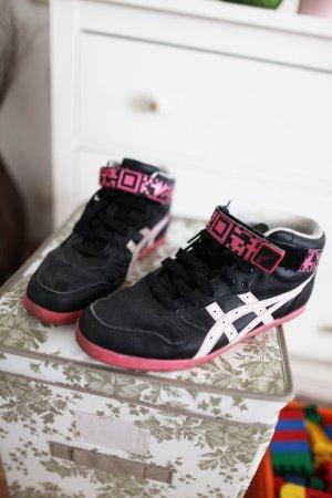 limitierte Sneakers schwarz pink