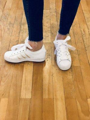 Limitited Adidas Superstar White mit Swarovski Kristallen