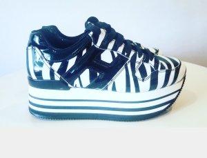 Hogan Sneaker alta bianco-nero