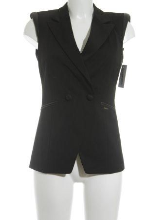 Lin Jo Long-Blazer schwarz minimalistischer Stil