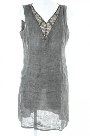 Lina Tomei Hippie Dress grey-dark grey hippie style