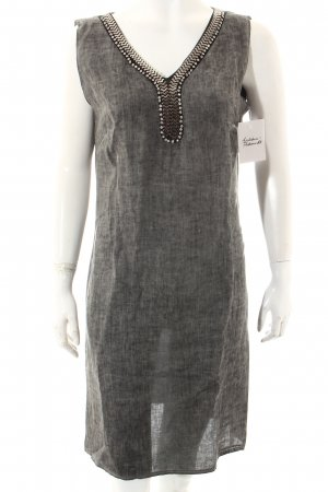 Lina Tomei Tunikakleid grau-silberfarben Elegant
