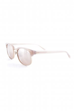 Linda farrow luxe runde Sonnenbrille apricot Casual-Look
