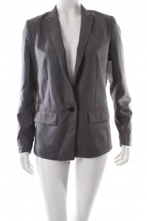 Lindex Kurz-Blazer grau Business-Look