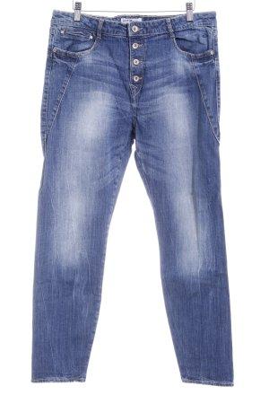Lindex Slim Jeans blau Casual-Look