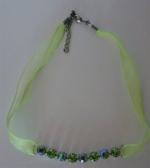 Collier Necklace lime-green