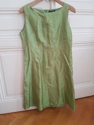 lindgrünes Seidenkleid von SAND aus Kopenhagen Gr 42
