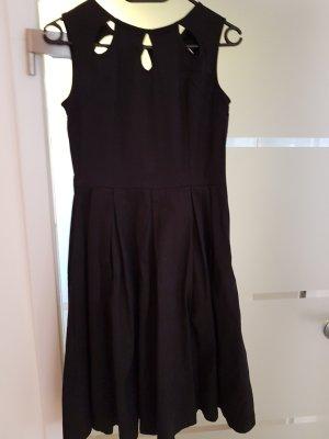 Lindy Bop Robe avec jupon noir coton