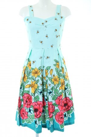Lindy Bop Bustier Dress allover print casual look