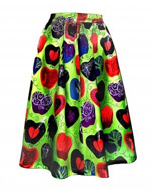 Lindy Bop Circle Skirt multicolored polyester