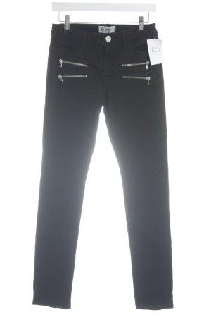 Line of Oslo Jeans skinny noir style décontracté