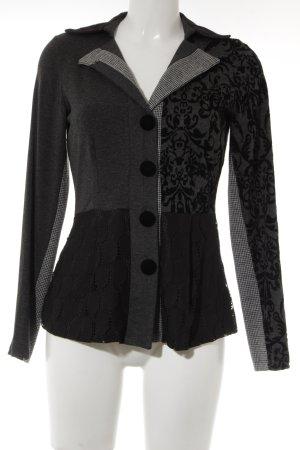Linea Tesini Jersey blazer Patroon-mengeling casual uitstraling