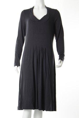 Linea Tesini Jerseykleid grau Casual-Look