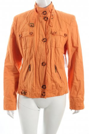 Linea Tesini Kurzjacke orange Casual-Look