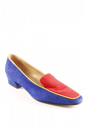 Linea Wally's Scarpa slip-on color block look vintage