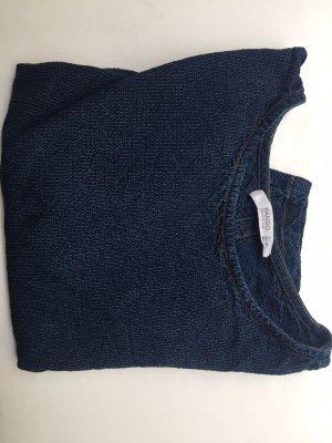 MNG T-shirt court bleuet-bleu