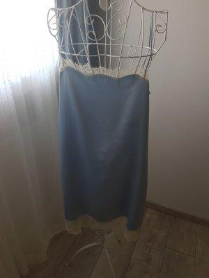 Lingerie-Kleid hellblau Stile Benetton Gr.M