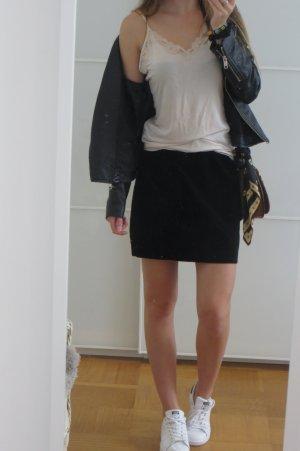 Lingerie-Look Top in beige