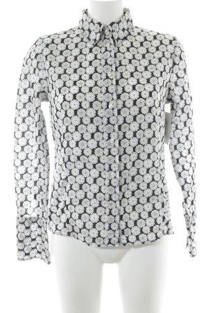 Linzner Hemd-Bluse Blumenmuster Casual-Look