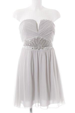 Lipsy Abendkleid hellgrau-graugrün Elegant