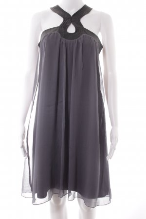 Lipsy Babydoll Dress slate-gray-black Boho look