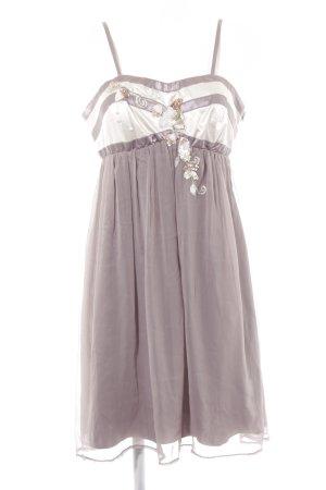 Lipsy Robe de bain gris lilas-mauve élégant