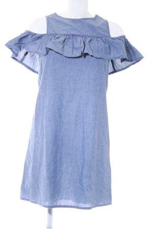 Lipsy Abito blusa blu pallido stile casual