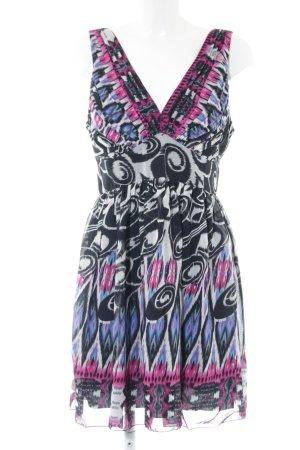 Lipsy Chiffon jurk abstract patroon casual uitstraling