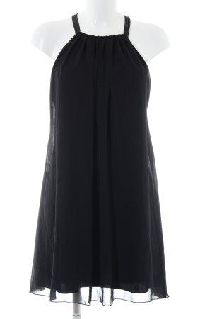 Lipsy Chiffon jurk zwart elegant
