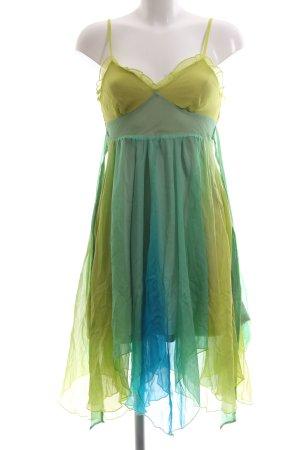 Lipsy Chiffon jurk kleurverloop extravagante stijl