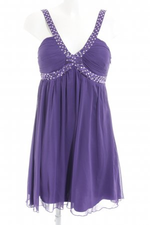 Lipsy Robe chiffon violet élégant