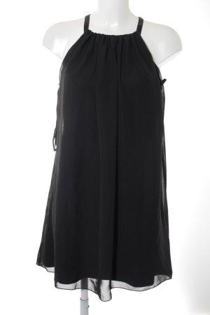 Lipsy Chiffonkleid schwarz Elegant