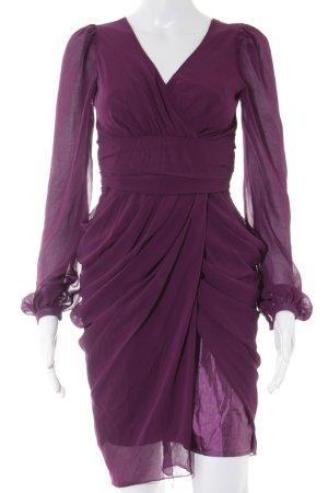 Lipsy Chiffonkleid violett Elegant