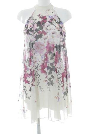 Lipsy Vestido de cóctel estampado floral elegante
