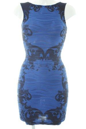 Lipsy Cocktailkleid schwarz-dunkelblau Paris-Look