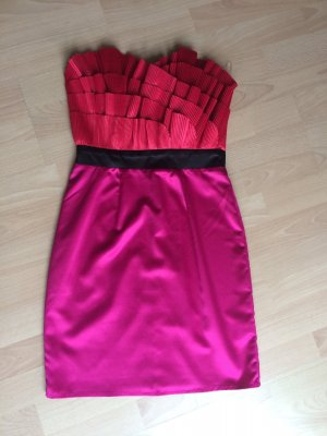 Lipsy Cocktailkleid UK8 / 36 pink rot