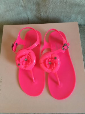 Lipsy Dianette Sandals neon pink