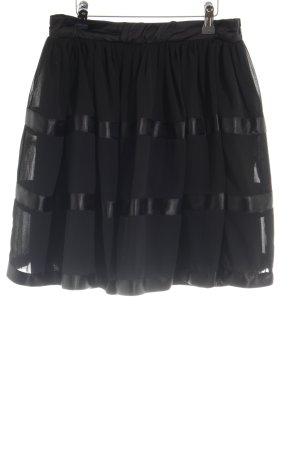 Lipsy Jupe évasée noir style festif