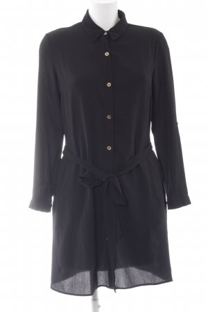 Lipsy Robe chemise noir style décontracté