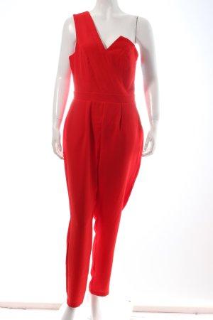 Lipsy Jumpsuit rot klassischer Stil
