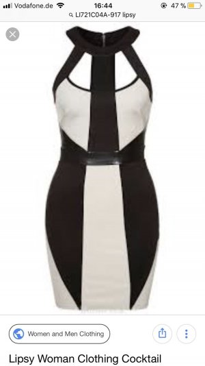 Lipsy Kleid 34 XS Sexy Cocktailkleid Partykleid
