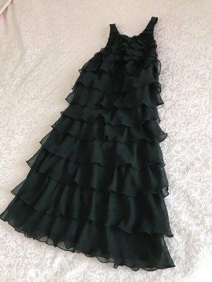 Lipsy Kleid Cocktail schwarz Volant neu mit Etikett 38